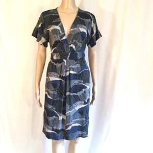 BCBG Maxazria Faux Wrap Avery Dress